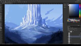 Castle Sketch Timelapse