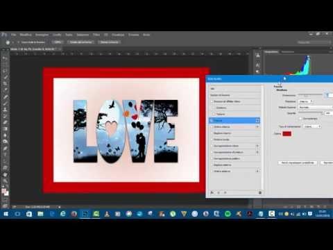 Inserire Foto In Un Testo Con Photoshop