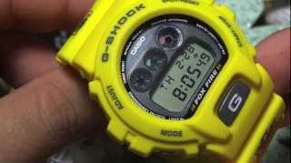 CASIO G-SHOCK REVIEW AND UNBOXING DW-6900H-9 TAXI DRIVER SLASHER