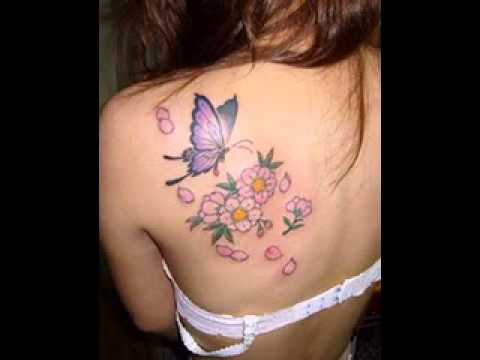 Butterfly Tattoo Design Pictures For Girls Youtube