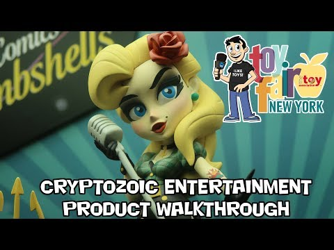 Cryptozoic Entertainment Product Walkthrough at New York Toy Fair 2018