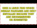 Unix & Linux: Find source of all installed packages on ...
