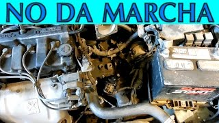 Diagnostico de auto que NO da marcha o starter (Neutral safety switch)
