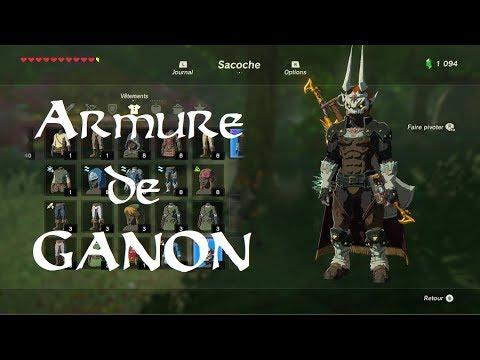Zelda BotW [DLC2] - Guide Armure de Ganon (Armure de l'au-delà)