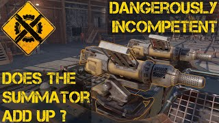 Crossout Does The Summator Add Up?