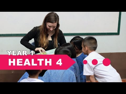 Year 1 Health, Lesson 4, Parts of the Head