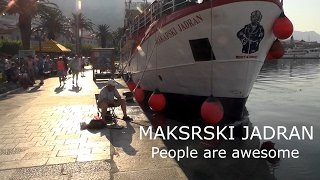 Makarska.makarski jadran 2015.07