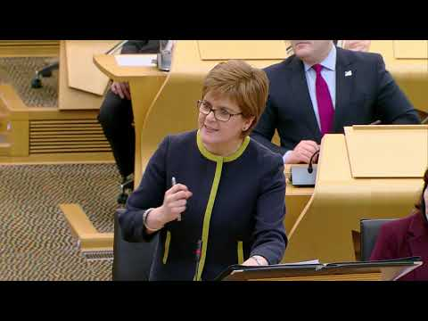 First Minister's Questions - 21 February 2019