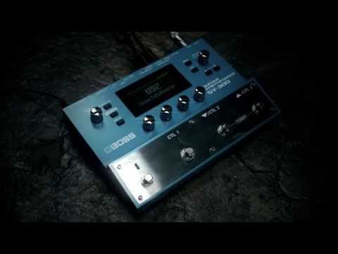 BOSS SY-300 Guitar Synthesizer performed by Gundy Keller
