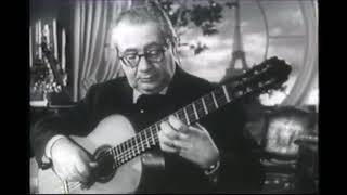 Andres Segovia : Mozart Variations by Sor