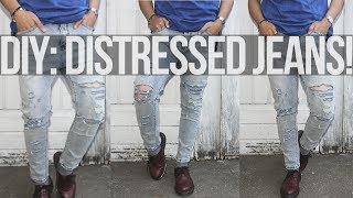 DIY: Distressed Jeans ft. Sammydress.com Thumbnail