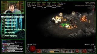 Diablo 2 - HELL 8 MAN SPEEDRUN w/subs - New Ladder #MD2GA