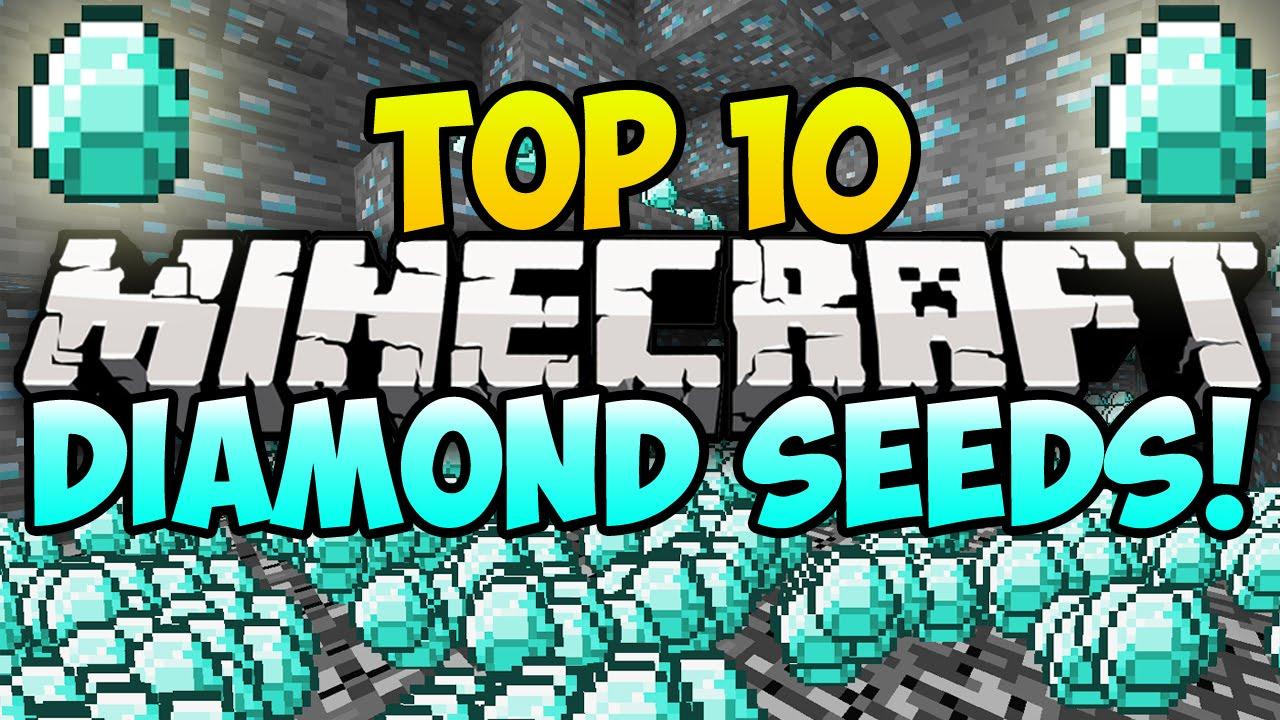 TOP 10 MINECRAFT DIAMOND SEEDS FOR MINECRAFT! (Best Minecraft Seeds)  (Minecraft Top 10 Seeds)