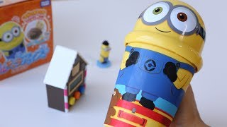 Minions Easy Ice Cream Maker Cooking Toy