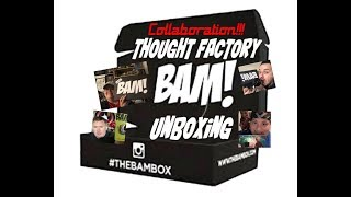 BAM! HORROR & MICKEY EP COLLAB Unboxing Video