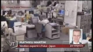 Séisme au Japon : témoignage d'un vendéen
