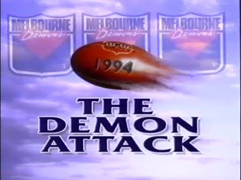 'The Demon Attack' - 1994 Melbourne Football Club AFL video