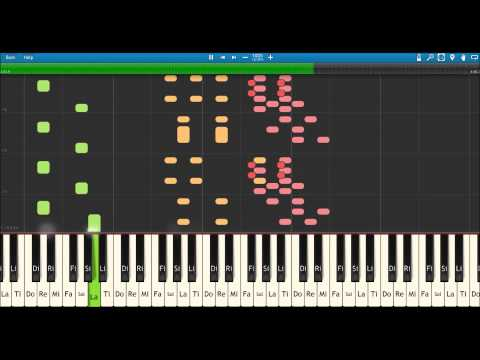Zorba The Greek (Piano tutorial)