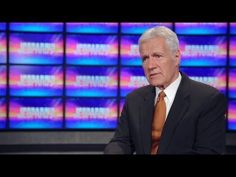 Jeopardy!  Alex Trebek and Ken Jennings Discuss Julia Collins' Win Streak