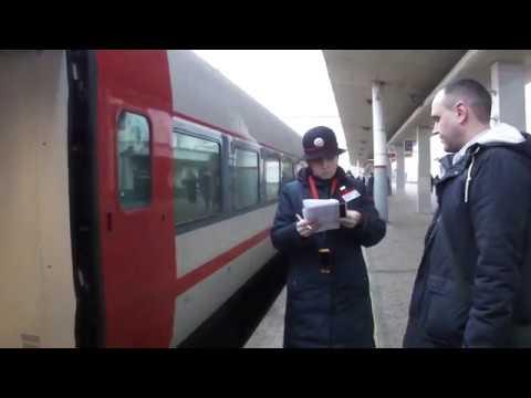 поезд Стриж № 704 из Москвы в Нижний Новгород