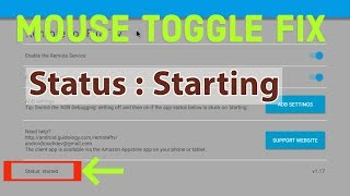 Solved MOUSE TOGGLE Issue For Fire TV Stick Fire TV 3 Or A Fire TV Cube