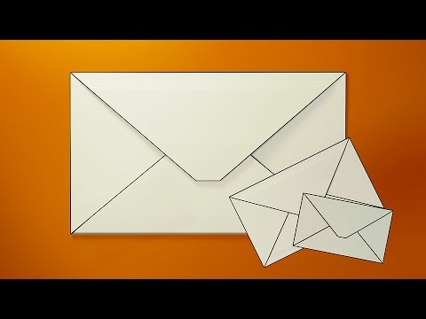 How To Make ENVELOPE With Paper At Home - YouTube