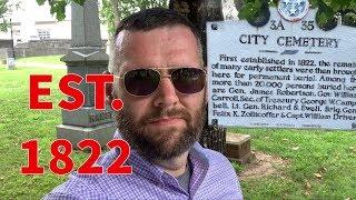 Famous Graves - Nashville City Cemetery - it's how old?
