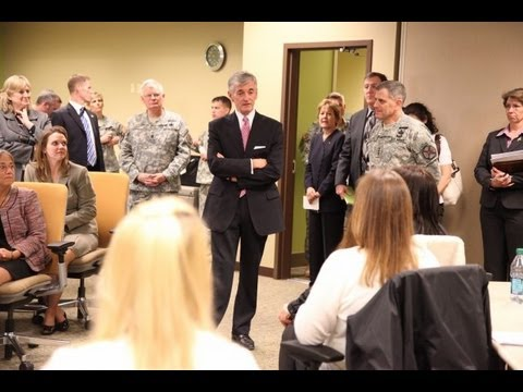 Secretary of the Army Reaffirms Support for Soldiers, Families