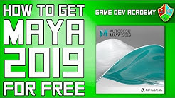 How To Get MAYA 2019 & 2020 for FREE