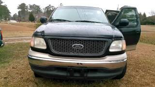 2000 ford f 150 lariat extended cab 4 door 4 sale