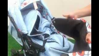 видео Преимущества коляски — тандем