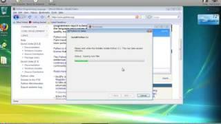 Installing Python 3.1 under Windows Vista