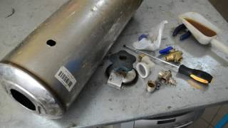 Ремонт фильтра смягчителя воды