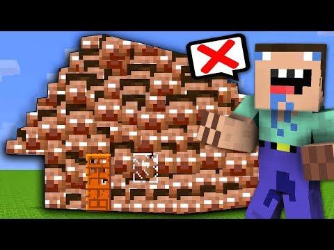 NOOB VS CASA HEROBRINE CREEPYPASTA - MINECRAFT TROLL (Noob vs Pro Minecraft)
