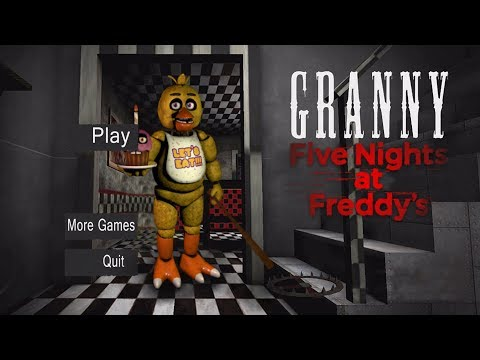 GRANNY IS CHICA!! | Granny (Horror Game) FNAF Mod thumbnail