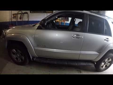 How To Clear The VSC Trac Trac Off Light In A Toyota 4Runner, Zero Point Calibration
