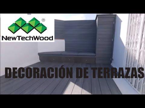 Decoración De Terraza De Barcelona En Tarima Sintética