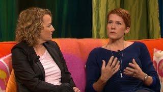 Felicia Feldt om uppbrottet med sin mamma Anna Wahlgren  - Malou Efter tio (TV4)