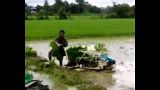 Rice Transplanter - Kubota. Part 2