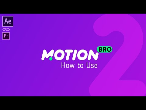 Motion Bro – Best timesaver for Motion Designers on Envato Market