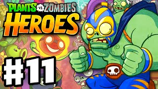 Plants vs. Zombies: Heroes - Gameplay Walkthrough Part 11 - The Smash! (iOS, Android)