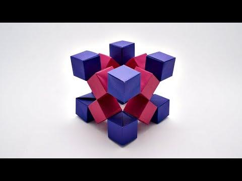 ORIGAMI MOVING CUBES 2 (Jo Nakashima) - no tape/glue!