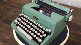 TypewriterMinutes - Typewriter Review: 1958 Royal Quiet de Luxe