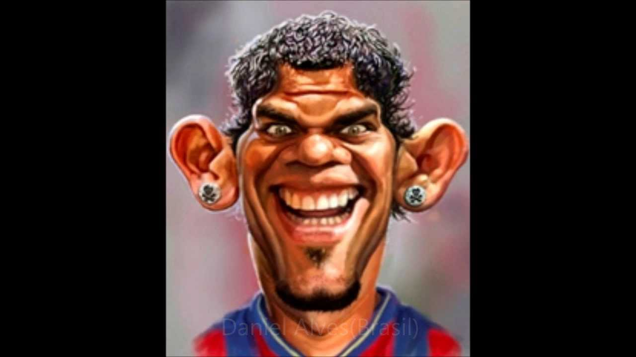 cartoon pictures of football players by ramin youtube