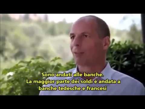 yanis varoufakis  intervistato tv tedesca
