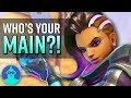 What Your Overwatch MAIN Says about YOU! (Vol. 2 w/ New Characters) | The Leaderboard
