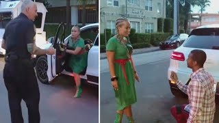 Florida Police Stop Girlfriend So Her Boyfriend Can Propose
