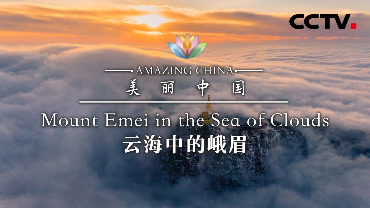 《美丽中国》云海中的峨眉 Amazing China-Mount Emei in the Sea of Clouds | CCTV纪录