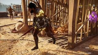 💥‼️AC Origins great farming spot for XP and animals pelts, no glitch involved - approx.+30K XP/h