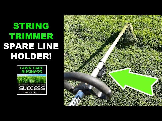 String Trimmer Spare Line Holder